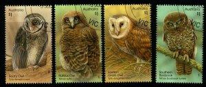 AUSTRALIA SG4590/3 2016 OWLS FINE USED
