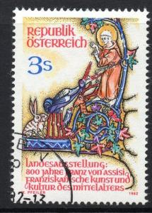 AUSTRIA SG1930 1982 ART & CULTURE IN THE MIDDLE AGES EXHIBITION FINE USED