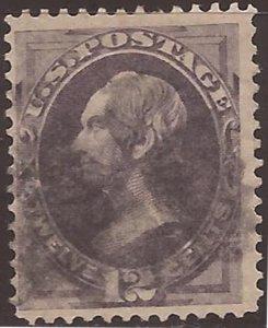 US Stamp 1870 12c Secretary of State Henry Clay Used Stamp - Scott #151