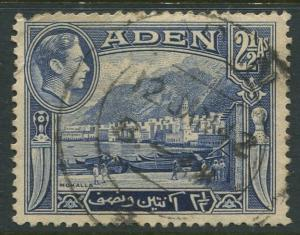 STAMP STATION PERTH Aden #21 KGVI Definitive Issue 1939 Used CV$0.30.
