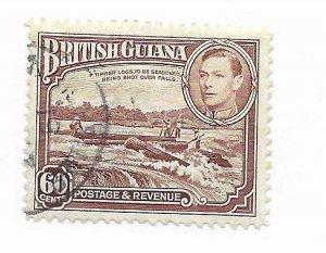 British Guiana #237 Used - Stamp - CAT VALUE $9.00
