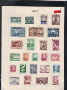 poland stamps page ref 17360