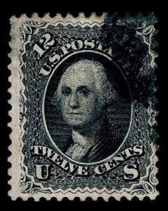 US.#69  USED .12c  REGULAR ISSUE OF 1861 - FINE - $45.00 (ESP#3965)
