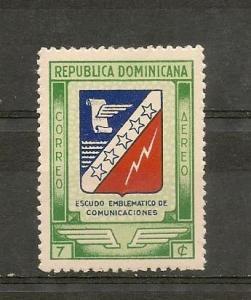 DOMINICAN REPUBLIC, STAMP, MNH COMUNICACIONES # OP-28