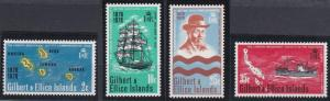 Gilbert and Ellice 166-169 MNH (1970)