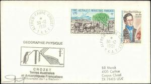 French Southern & Antarctic Territory #206, Antarctic Cachet and/or Cancel