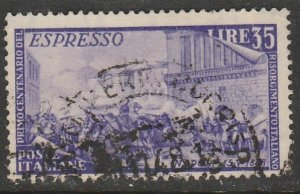 Italy E26, SPECIAL DELIVERY, USED. VF. (157)