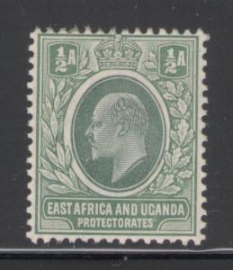 East Africa 1904 King Edward VII 1/2a Scott # 17 MH