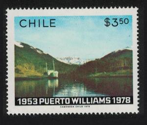 Chile 25th Anniversary of Puerto Williams Navirino Island SG#838