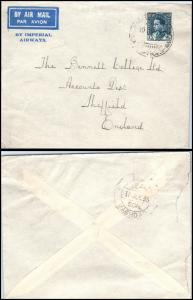 Goldpath: IRAQ cover 1935, to England  _CV23_P12