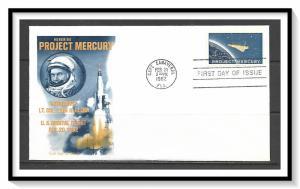 US #1193 Project Mercury Fleetwood Cachet FDC