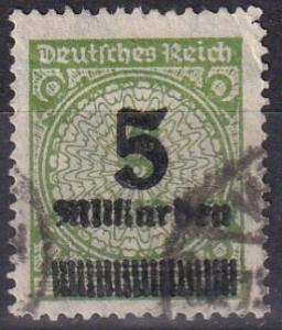 Germany #312  F-VF Used  CV $22.50  Z673