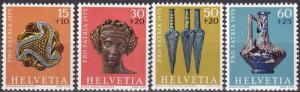 Switzerland #B430-33 MNH CV $3.60  (A18698)