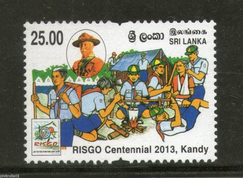 Sri Lanka 2013 RISGO Rajans International Scout Gathering Of Centennial MNH #225