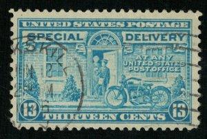1944, Postman and Motorcycle, USA, 13c (Т-9791)