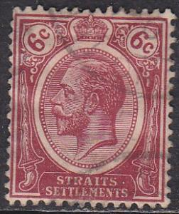 Straights Settlement 188 Hinged Used 1921 King George V