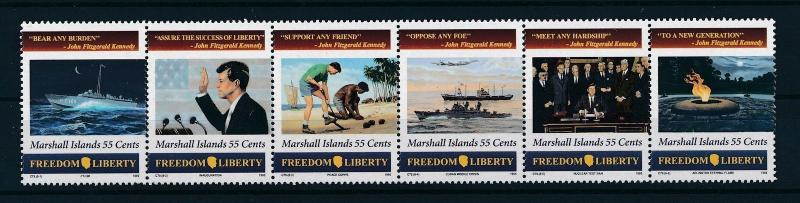 [24395] Marshall Islands 1995 John F. Kennedy MNH