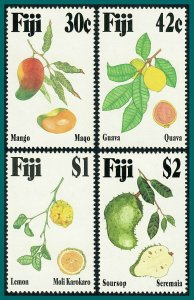 Fiji 1993 Tropical Fruits, MNH  #698-701,SG884-SG887