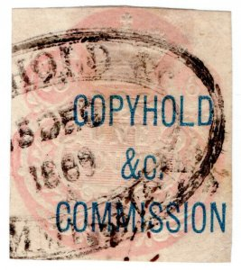 (I.B) QV Revenue : Copyhold Commission £1 (1868)