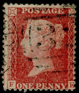 SG42, 1d rose-red PLATE 50, LC14, FINE USED. Cat £40. FK