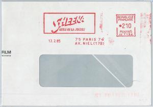 64775 - FRANCE - Red MECHANICAL POSTMARK: CINEMA Sheena, reine de la jungle 1985