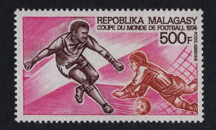 Malagasy Republic   #C120   MNH  1973  soccer football  world cup Munich 1974