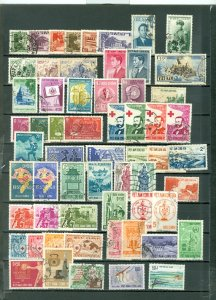 VIETNAM LOT of 60 incl 4 SETS...USED...$41.00