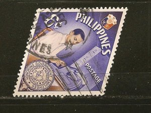 Philippines 845 Government Clerk Used