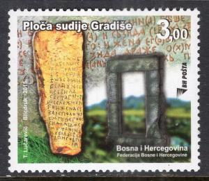 Bosnia and Herzegovina Bosniak Government 757 MNH VF