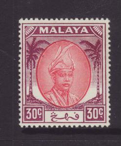 1955 Pahang 30c Mounted Mint SG67