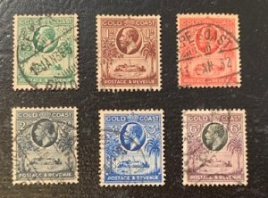 STAMP STATION PERTH Gold Coast #98-101,103,103 KGV Short Set 1928