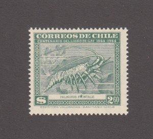 Chile Scott # 255S MNH