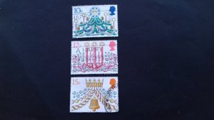 Great Britain 1980 Christmas Stamps Used