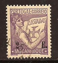 Mozambique  #  266  used