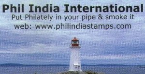 Phil India Stamps