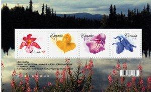 Flowers x 4 2006 #2194  Canada mint