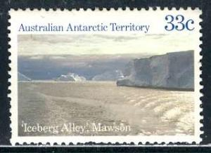 Australian Antartic Terr.; 1985: Sc. # L67: O/Used Single Stamp