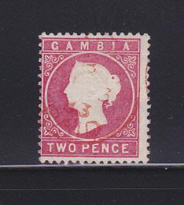 Gambia 7 U Queen Victoria