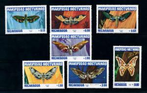 [98825] Nicaragua 1983 Insects Butterflies  MNH