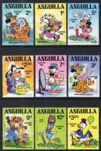 Anguilla 434-442 Disney's MNH VF