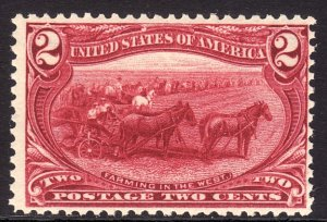 1898 U.S Trans-Mississippi Exposition 2¢ issue MNH Sc# 286 CV $65.00