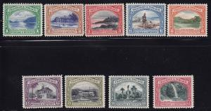 Trin & Tobago Scott # 34 - 42 set mint lightly hinged cv $ 70 ! see pic !
