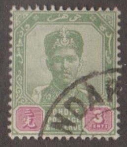 Malaya - Johore Scott #39 Stamp - Used Single