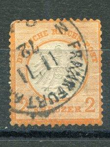 Germany #8  used  F-VF      Lakeshore Philatelics