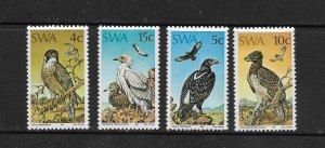 BIRDS - SOUTH WEST AFRICA  #373-6   MNH