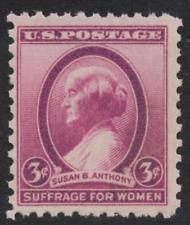 SCOTT # 784 SINGLE SUSAN B. ANTHONY MINT NEVER HINGED GEM