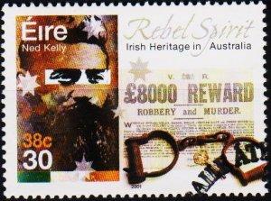 Ireland. 2001 30p S.G.1416 Fine Used