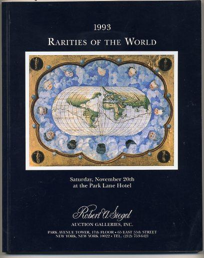 Siegel 1993 Rarities of the World Sale