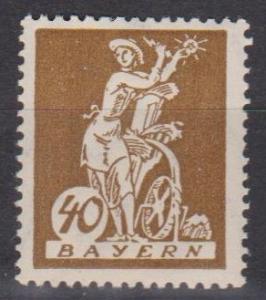 Bavaria #243 MNH F-VF