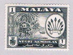 Malaya Negri Sembilan 64 MLH Arms of Negri Sembilan (BP23110)